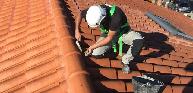 Reparación de tejados en Móstoles