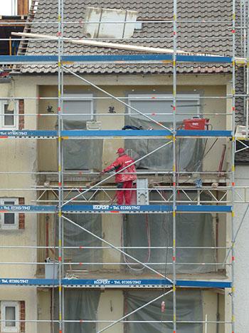 reparacion fachadas Madrid