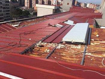 Tipos de cubiertas para tejados gallery of detalle - Cubiertas vegetales para tejados ...