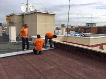 Reparacion de cubiertas